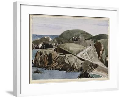 The Road Through the Rocks, C.1926-27-Charles Rennie Mackintosh-Framed Giclee Print