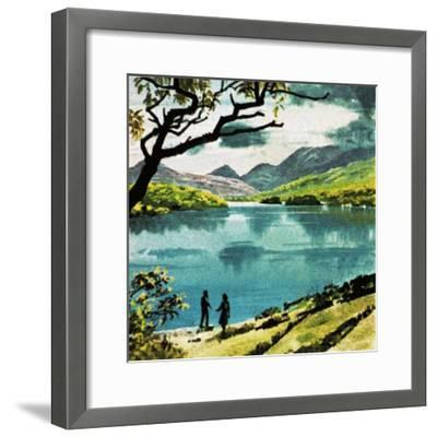 Lakes of Killarney, Country Kerry-English School-Framed Giclee Print