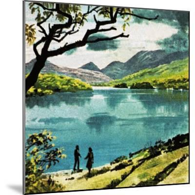 Lakes of Killarney, Country Kerry-English School-Mounted Giclee Print