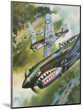 Famous Aircraft and their Pilots-Wilf Hardy-Mounted Premium Giclee Print