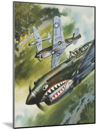 Famous Aircraft and their Pilots-Wilf Hardy-Mounted Giclee Print