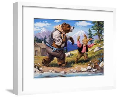 Brer Rabbit, from 'Once Upon a Time'-Virginio Livraghi-Framed Giclee Print