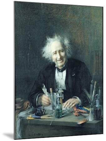 Portrait of Michel-Eugene Chevreul-Leon Auguste Tourny-Mounted Giclee Print