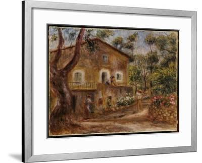 Collette's House at Cagne, 1912-Pierre-Auguste Renoir-Framed Giclee Print