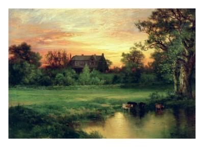 Easthampton, Long Island, 1897-Moran-Framed Giclee Print