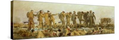 Gassed, an Oil Study, 1918-19-John Singer Sargent-Stretched Canvas Print