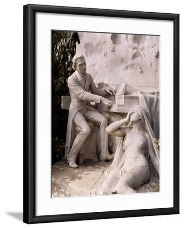 Monument to Frederic Chopin-French School-Framed Giclee Print
