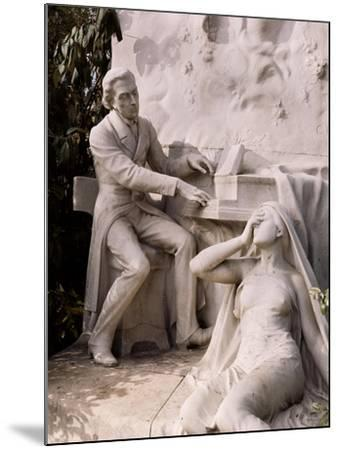Monument to Frederic Chopin-French School-Mounted Giclee Print