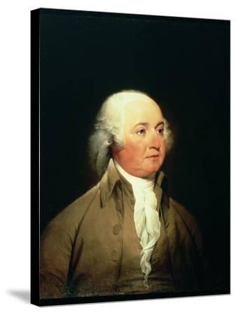 Portrait of John Adams, C.1793-John Trumbull-Stretched Canvas Print