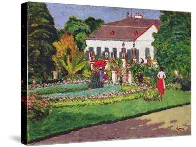 Manor House in Kertvelyes, 1907-Jozsef Rippl-Ronai-Stretched Canvas Print