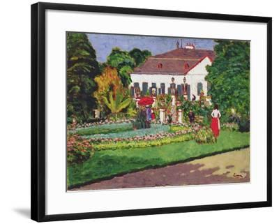 Manor House in Kertvelyes, 1907-Jozsef Rippl-Ronai-Framed Giclee Print