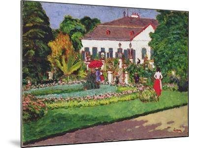 Manor House in Kertvelyes, 1907-Jozsef Rippl-Ronai-Mounted Giclee Print