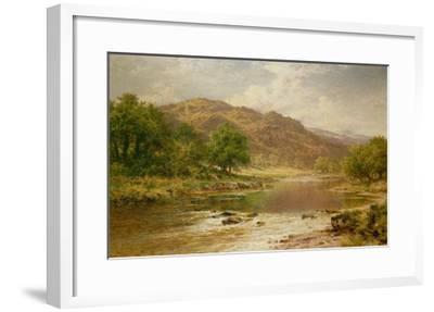 The River Llugwy, Bettws-Y-Coed-Benjamin William Leader-Framed Giclee Print