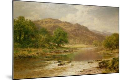 The River Llugwy, Bettws-Y-Coed-Benjamin William Leader-Mounted Giclee Print