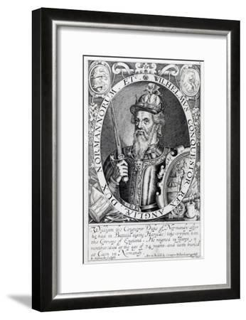 William the Conqueror, 1618-Renold Elstrack-Framed Giclee Print