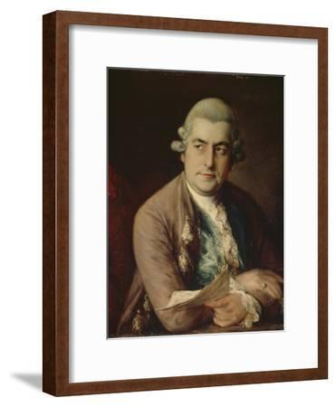 Johann Christian Bach, 1776-Thomas Gainsborough-Framed Giclee Print