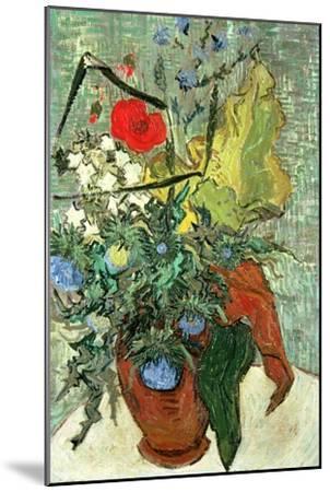 Bouquet of Wild Flowers-Vincent van Gogh-Mounted Premium Giclee Print