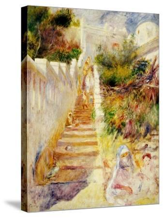 The Steps, Algiers, C.1882-Pierre-Auguste Renoir-Stretched Canvas Print