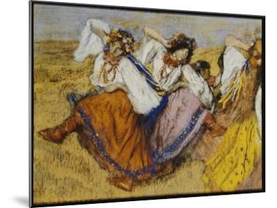 Russian Dancers, C.1895-Edgar Degas-Mounted Giclee Print