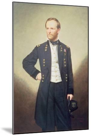 General William Sherman-George Peter Alexander Healy-Mounted Giclee Print