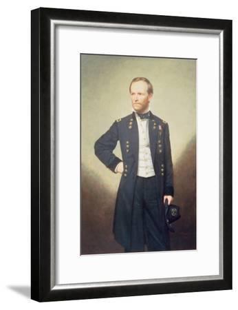 General William Sherman-George Peter Alexander Healy-Framed Giclee Print