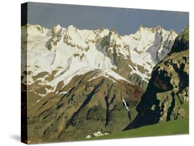 Mont Blanc Mountains, 1897-Isaak Ilyich Levitan-Stretched Canvas Print