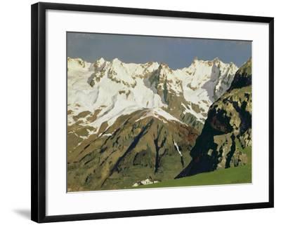 Mont Blanc Mountains, 1897-Isaak Ilyich Levitan-Framed Giclee Print
