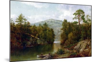 The Lake George, 1876-David Johnson-Mounted Giclee Print
