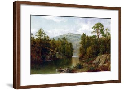 The Lake George, 1876-David Johnson-Framed Giclee Print