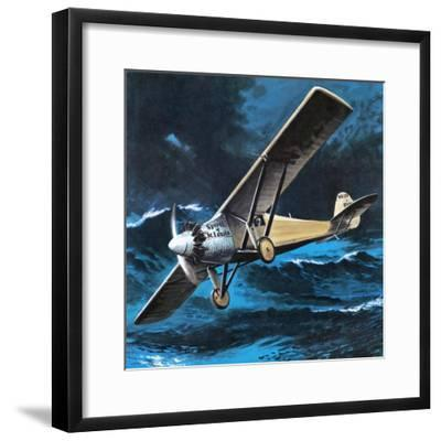 Spirit of St Louis-Wilf Hardy-Framed Giclee Print