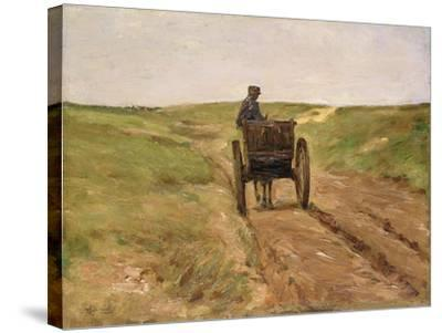 Cart in Katwijk, 1889-Max Liebermann-Stretched Canvas Print