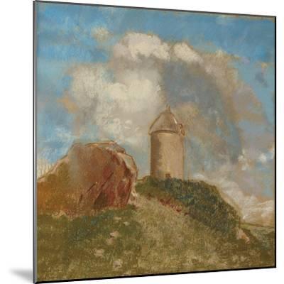 The Windmill, C.1880-Odilon Redon-Mounted Giclee Print