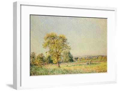 A Summer's Day, 1886-Alfred Sisley-Framed Giclee Print
