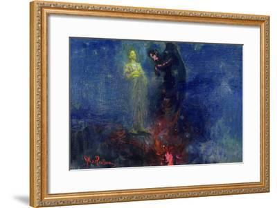 Get Thee Hence, Satan!-Ilya Efimovich Repin-Framed Giclee Print