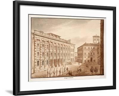 Antonine Temple, 1833-Agostino Tofanelli-Framed Giclee Print
