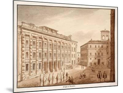 Antonine Temple, 1833-Agostino Tofanelli-Mounted Giclee Print
