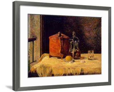 At the Window, 1882-Paul Gauguin-Framed Giclee Print