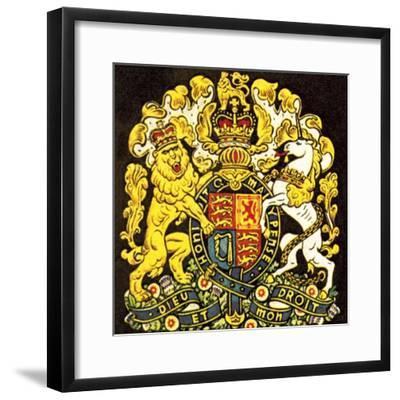 British Coat of Arms Giclee Print by English School | Art com
