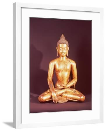 Gautama the Buddha-Nepalese School-Framed Giclee Print