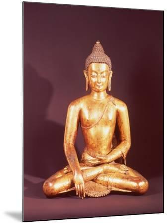 Gautama the Buddha-Nepalese School-Mounted Giclee Print