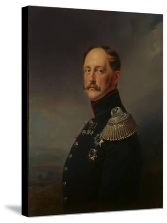 Nicholas I, 1852-Franz Kruger-Stretched Canvas Print