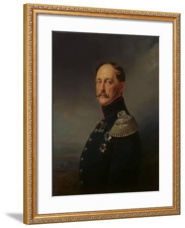 Nicholas I, 1852-Franz Kruger-Framed Giclee Print