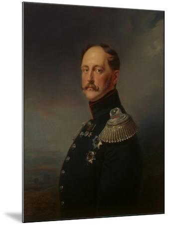 Nicholas I, 1852-Franz Kruger-Mounted Giclee Print