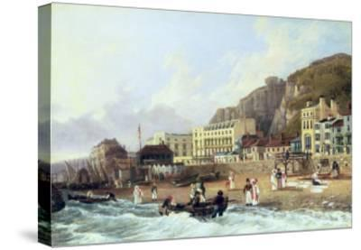 View of Ramsgate-Richard Hume Lancaster-Stretched Canvas Print