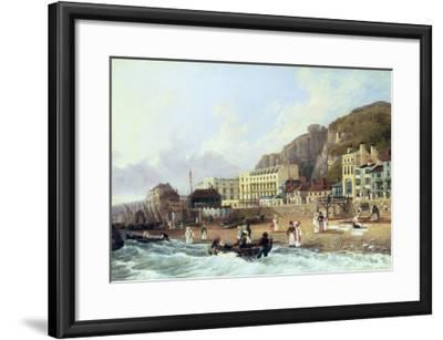 View of Ramsgate-Richard Hume Lancaster-Framed Giclee Print