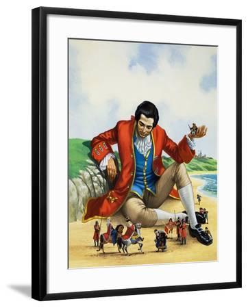 Gulliver's Travels-Nadir Quinto-Framed Giclee Print