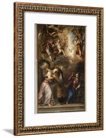The Annunciation-Titian (Tiziano Vecelli)-Framed Giclee Print