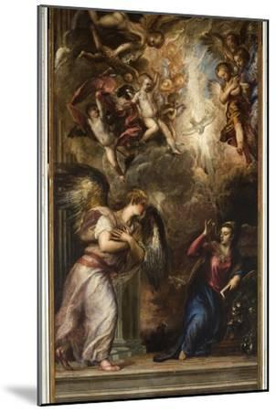 The Annunciation-Titian (Tiziano Vecelli)-Mounted Giclee Print
