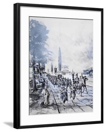 A Roman Legion-Barrie Linklater-Framed Giclee Print
