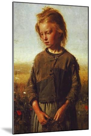 Fisher Girl, 1874-Ilya Efimovich Repin-Mounted Giclee Print